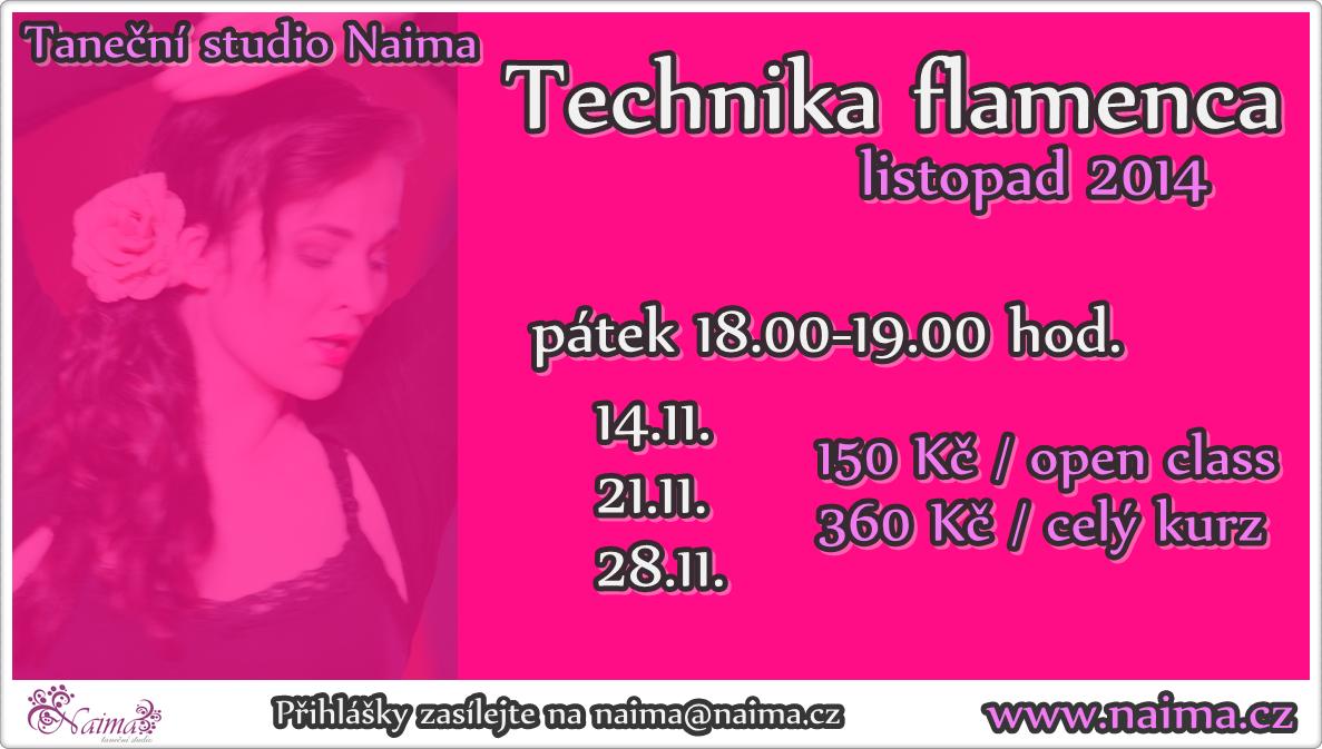 Flamenco listopad